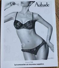 AUBADE LINGERIE - CATALOGUE AUTOMNE/HIVER 2014