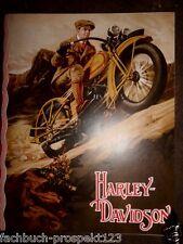 %% Harley Davidson prospectus 1929 - 1200 1000 750 Ccm
