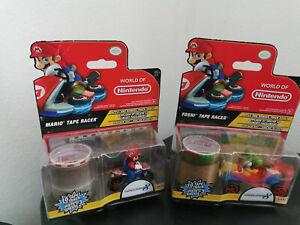 Jakks Pacific World of Nintendo Tape Racer 2er Set