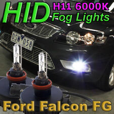 H11 6000K HID Kit for Ford FG & FGX Falcon Fog Lights (XR6 Turbo XR8 G6E FPV GT)