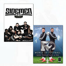 Sidemen: The Book, F2 World of Football How to Play Like a Pro 2 Books Set Pack