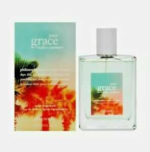 Philosophy Pure Grace Endless Summer 4.0 oz Eau de Toilette Spray Original New