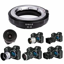 GABALE Adapter for Leica LM Zeiss M Series Lens to Nikon Z Mount Z6 Z7 Camera
