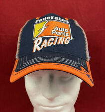 Oryx Federated Auto Parts Racing Adjustable Strapback Mesh Baseball Hat Cap