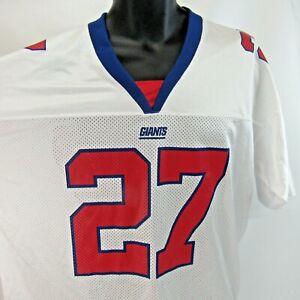 Vintage Ron Dayne New York Giants Jersey Men's Size L Adidas Large NFL Shirt