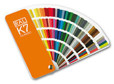RAL K7 Classic colour guide. New - All the classic colours. Pack of 100 guides