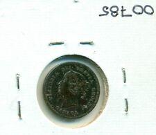 CAP Canada 5 cents 1872H EF Black