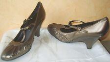 @ Superbes escarpins semi compensés UNISA en cuir T 40 , NEUVES ! @