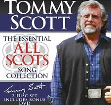 TOMMY SCOTT 'THE ESSENTIAL ALL SCOTS SONG COLLECTION' CD & DVD SET (2014)