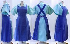 XxX·L - Schwesterntracht Gr. 52, Damen Arbeitskittel + 2 Schürzen, Apron Klinik