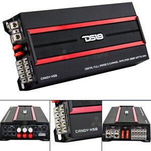 DS18 Candy-X5B 5 Channel Digital Full Range Amplifier 2000 Watts Max Class D