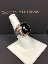 David Yurman  Albion Black Onyx Ring - 17mm