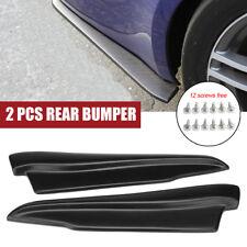 52cm Car Rear Bumper Spats Splash Guard Extend Valance Lip Diffuser For BMW E92