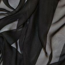 "100% Nylon Sheer Chiffon Fabric 58"" wide petticoats lingerie Halloween Costume"