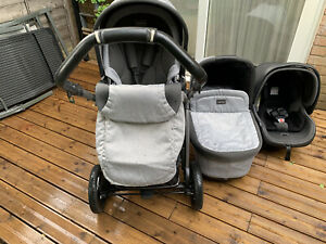 Peg Perego Travel System 3 in 1 Pop Up Book S Stroller, Pushchair, Buggy,
