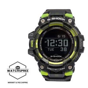 Casio G-Shock G-SQUAD Bluetooth® Black Resin Band Watch GBD100SM-1D