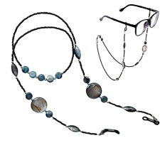 Beaded Eyeglass Spectacle Reading Glasses Chain Holder Neck Cord Necklace Strap