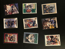 Lot of 42 Autographed Hockey Cards!