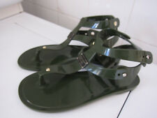206e1cc7172 Marc by Marc Jacobs Jelly Rubber Thong Sandals - Size 35   US 6 - Army