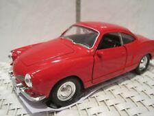 VW Karmann Ghia Oldtimer Modelauto rot ca.11,3cm *NEU* Rückzugmotor ca. 1:34