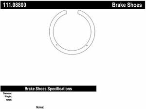 Centric Centric 111.08800 Centric Brake Shoes 111.09
