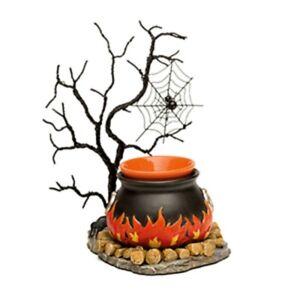 Scentsy Hocus Pocus Wax Warmer Full Size Halloween Rare Retired 2016