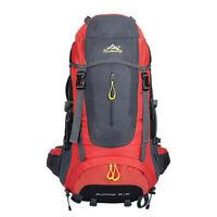 70L Outdoor Travel Hiking Camping Luggage Backpack Internal Frame Bag Rucksack