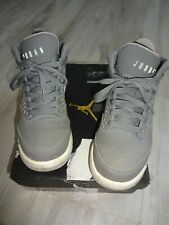 TOP! JORDAN AIR FLIGHT NIKE SNEAKER Gr 36 GRAU BASKETBALL TURNSCHUH HALBSCHUH