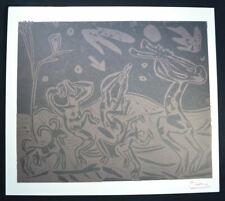 """Pablo Picasso, Signed Original Lithograph """"Les Danseurs au Hibou"""" (Bloch 936)."""