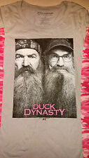 A&E DUCK DYNASTY Pink Camo Phil Si Womans L/S Shirt Size XL ExtraLarge NWOT NEW