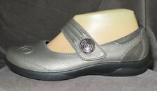 PADDERS Women's Poem Pewter Leather Mary Jane Shoe 5 UK/ 38 EU/ 7 US EEEE