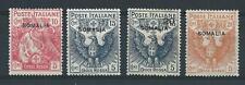 FRANCOBOLLI 1916 SOMALIA CROCE ROSSA SERIE INTEGRA MNH D/6338