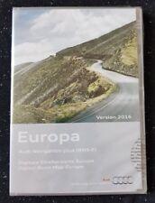 Nuevo Audi RNS-E 2004-2009 discos DVD de navegación Sat Nav mapa 2016 A3 A4 A6 TT