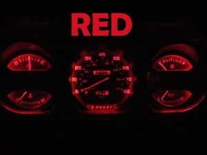 Gauge Cluster LED Dashboard Bulbs Red For Dodge Ram 81 89 D100 - D350 Truck
