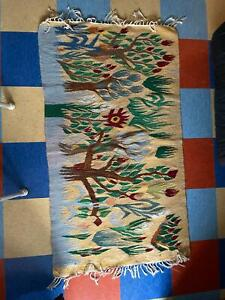 Woven Egyptian Kilim Wall Hanging 32 in x 55 in discounted 35%! . Now only $99