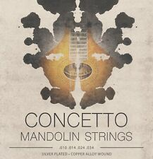 Concetto Regular Light Mandolin Strings Set .010 - .034 Silver Plated / Steel
