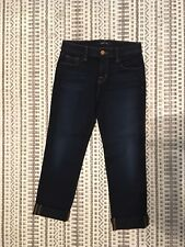 J Brand Jeans Petite Atlantic 28112T289 Mid Rise Crop Size 26
