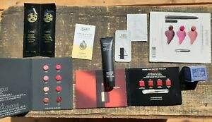 LOT NEW COSMETIC SAMPLES FRESH LOTUS/YVES SAINT LAURENT/KIEHL'S/NARS/ORIBE/VERSO