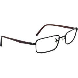Ray-Ban Eyeglasses Black/Matte Tortoise Rectangular Frame 52[]18 130