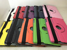 360 Degree Rotating PU Leather Case Cover For iPad Mini