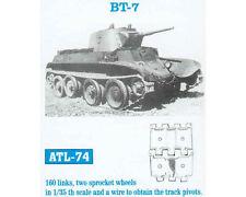 1/35 ATL74 FreeShip FRIULMODEL METAL TRACKS FOR RUSSIAN TANK BT-7 for TAMIYA