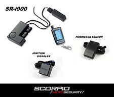 Scorpio SR-i900 Motorcycle Alarm System w/ Perimeter Sensor & Ignition Disabler