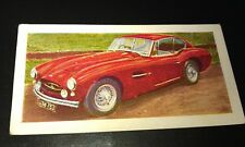 1959 Allard Gran Turismo Orig Colour Trade Card Uk