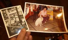 Anciennes Photographies Boutique de Disquaire ancien Tourne Disque Electrophone