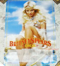 Britney Spears Circus Taiwan Promo Giant Poster (34 X 23)