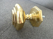 OLD STYLE SOLID BRASS DOOR PULL CLOSER