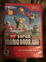New Super Mario Bros. Wii (Nintendo Wii, 2009) TESTED & COMPLETE