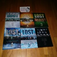 LOST THE COMPLETE SERIES SEASONS 1-6 1 2 3 4 5 6 DVD R1 REGION 1 USA/CANADA USED