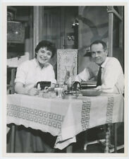 HENRY FONDA, ANNE BANCROFT original theater photo 1958 TWO FOR THE SEESAW