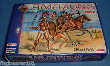 DARK ALLIANCE #72020. AMAZONS (SET 1). 1/72 SCALE FIGURES